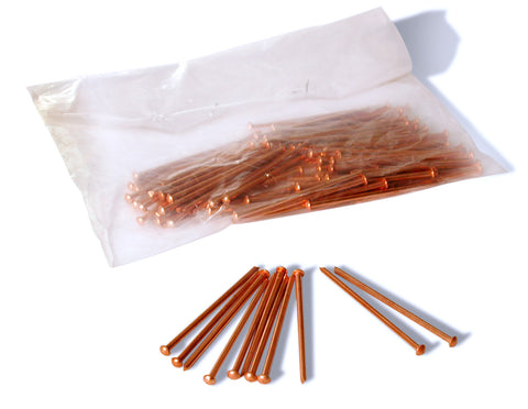 C-PRS-05-CS011000 - Copper Plated Nails 2.5 x 50 (500 pc pack)