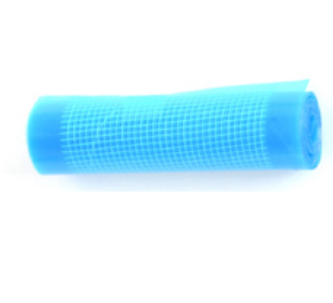 C-PWT-05-10486  - Reinforcement (thick) film plastic repair - blue - small roll (special order)
