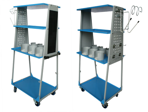 C-PRC-05-331 - Smooth Trolley - Compact, Work Station Cart