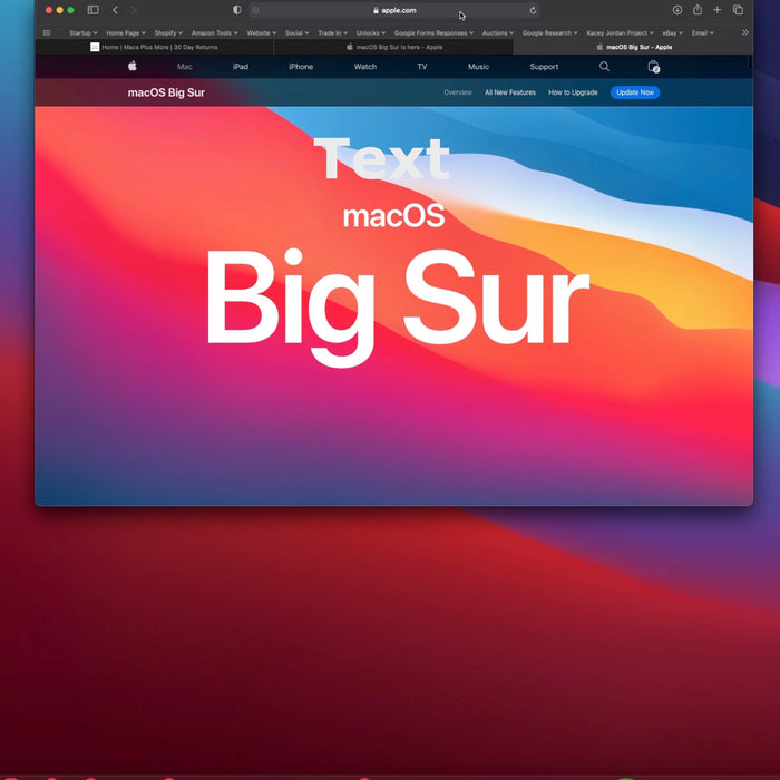 How to create a bootable macOS Big Sur USB Install drive