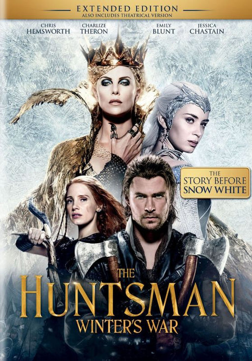 The Huntsman Winter's War (Extended Edition) (DVD) - Macs Plus More