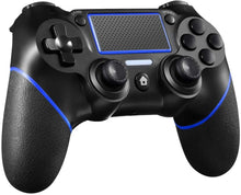 Load image into Gallery viewer, PS4 Controller Wireless Controller for Playstation 4 with Motion Motors Mini LED Indicator (Black)