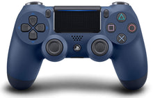 Load image into Gallery viewer, Official Sony PlayStation 4 PS4 Dualshock 4 Wireless Controller Midnight Blue