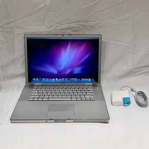 "Apple MacBook Pro 1,1 A1150 15.4"" CORE DUO T2500 2GB 2.0GHZ 100GB HDD 2006"