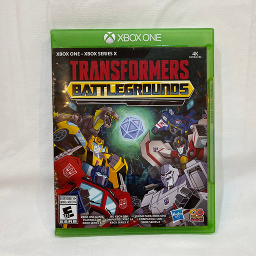 Transformers Battlegrounds XBOX One XBOX Series X - Macs Plus More
