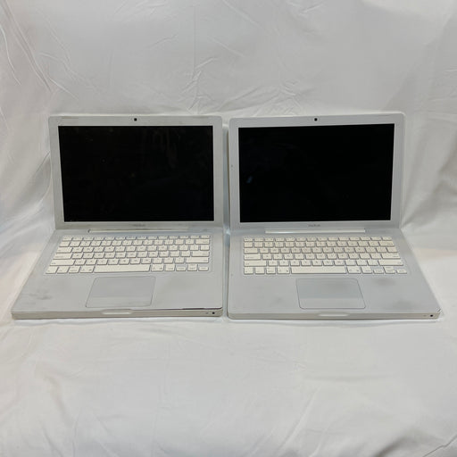 Lot of 2 Apple MacBook A1181 Core 2 Duo 120GB HDD 1GB Ram For Parts or Repair - Macs Plus More