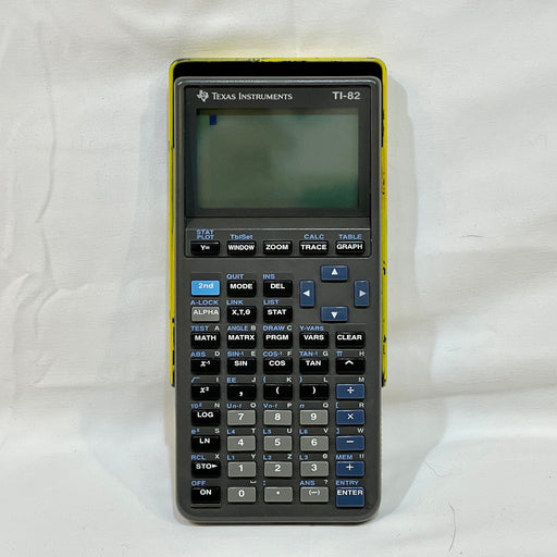 Texas Instruments TI-82 Graphing Calculator Tested & Working - Macs Plus More