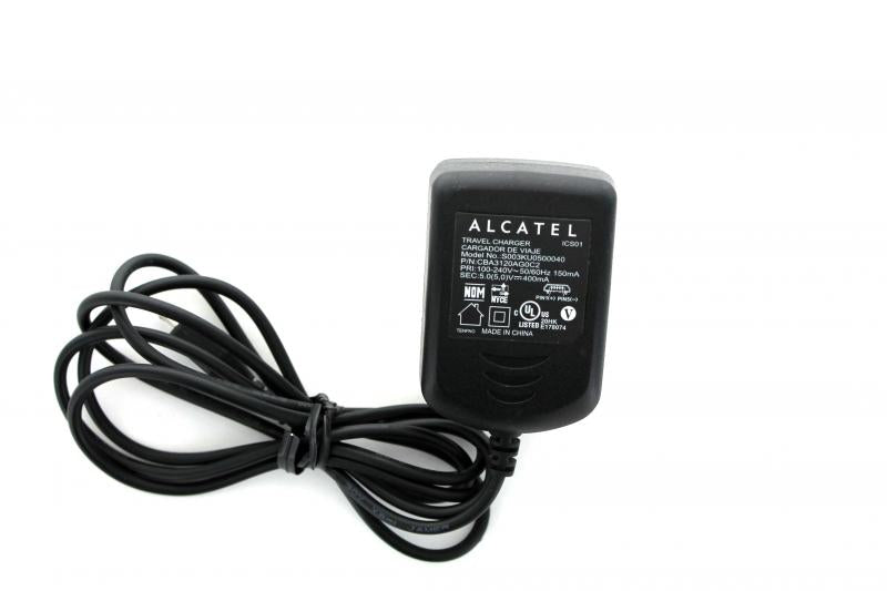 Alcatel (S003KU0500040,S004E05055 ) Wall Charger for Micro - USB Devices - Black - Macs Plus More