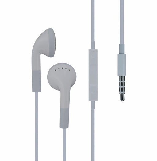 Apple iPhone 4 4S Wired Earbuds White *MA814LL - Macs Plus More