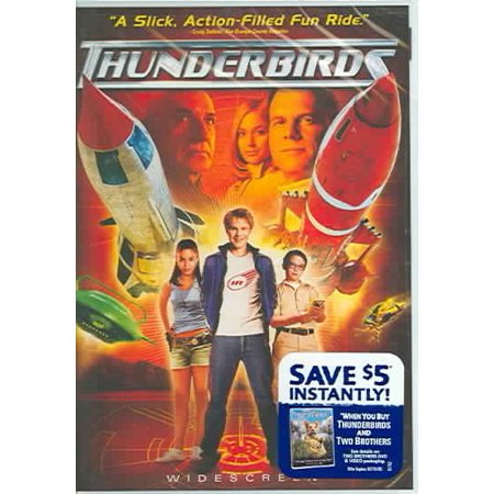 Thunderbirds Widescreen Dvd