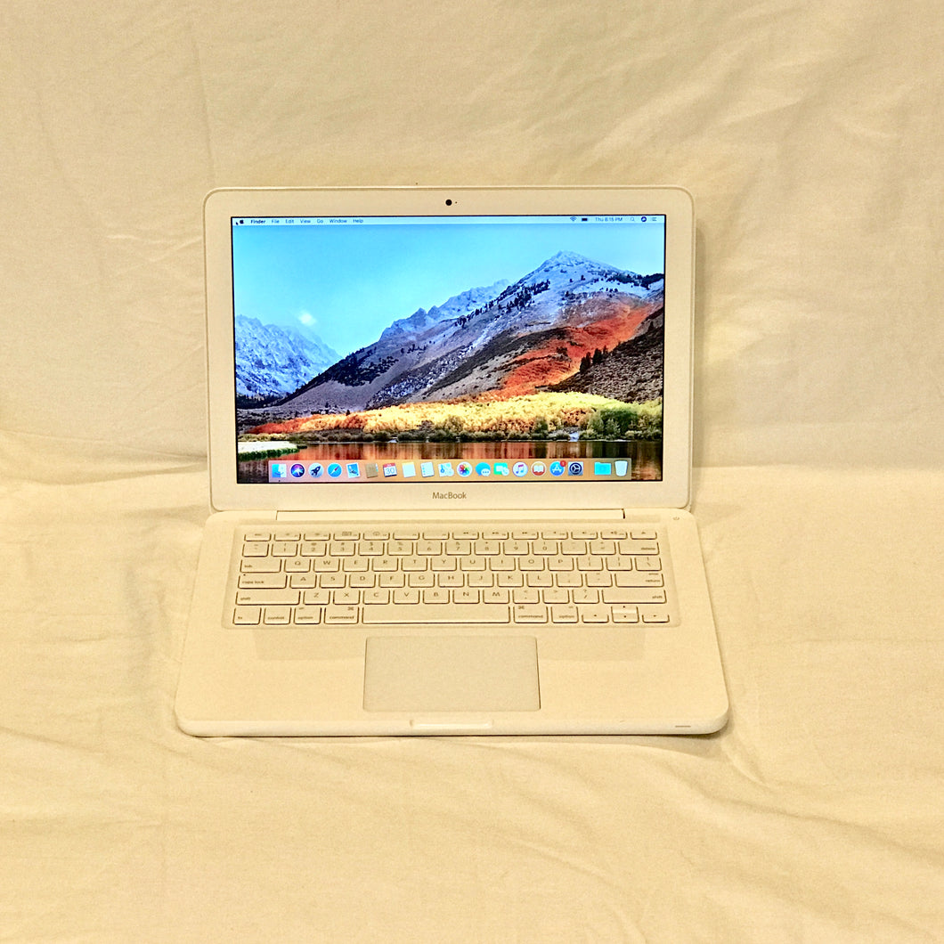 Apple MacBook Mid 2010 Intel Core 2 Duo 2.4 GHz 8GB RAM 250 GB HDD 13.3