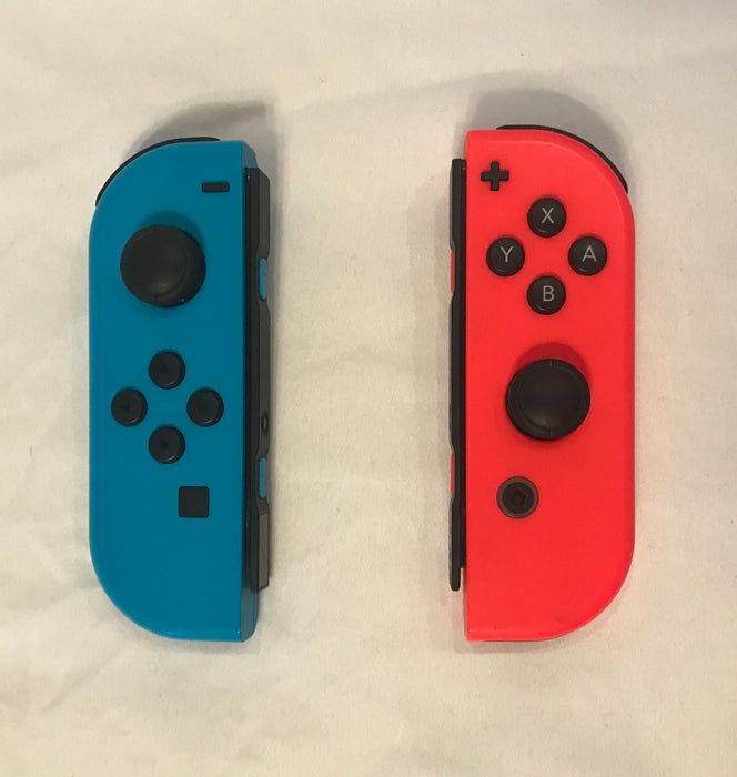 Nintendo Switch Joy Con Controller Left Right Gray Neon Red Neon Blue - Macs Plus More