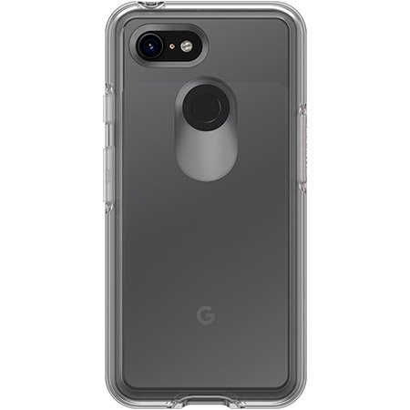 OtterBox - Symmetry Series Case for Google Pixel 3 - Clear - Macs Plus More