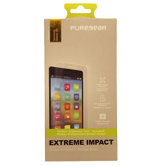 PureGear Extreme Impact Series Screen Protector for Samsung S8+ (Plus) - Clear - Macs Plus More