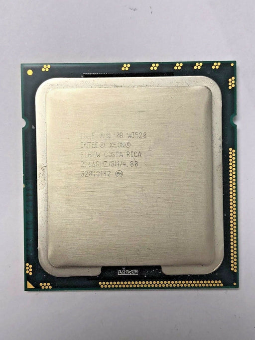 INTEL XEON W3520 2.66GHZ SLBEW QUAD CORE SOCKET B LGA1366 8M CACHE CPU PROCESSOR - Macs Plus More