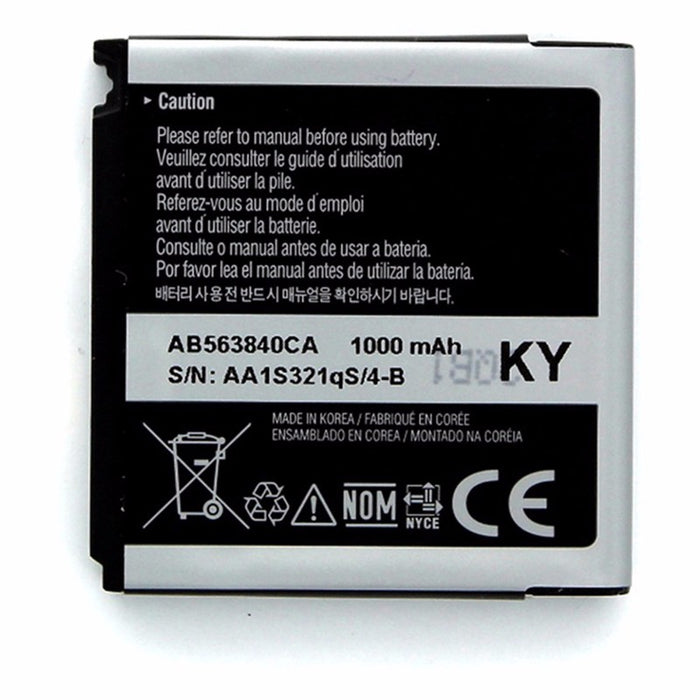 OEM Samsung AB563840CA 1000 mAh Replacement Battery for R350/M800/T929/M560 - Macs Plus More