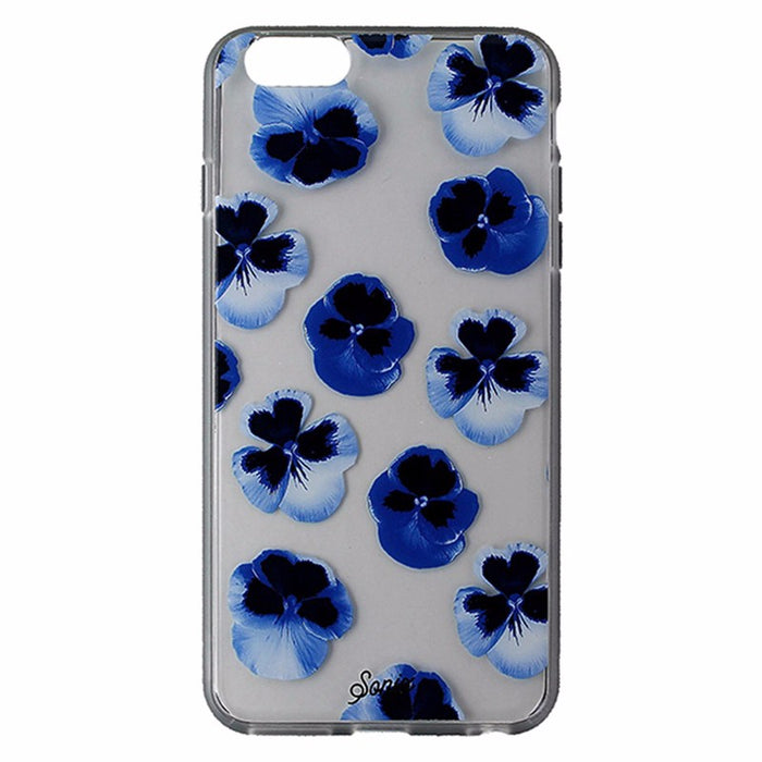 Sonix Clear Coat Series Case for iPhone 6s Plus/6 Plus - Clear/Blue Flowers