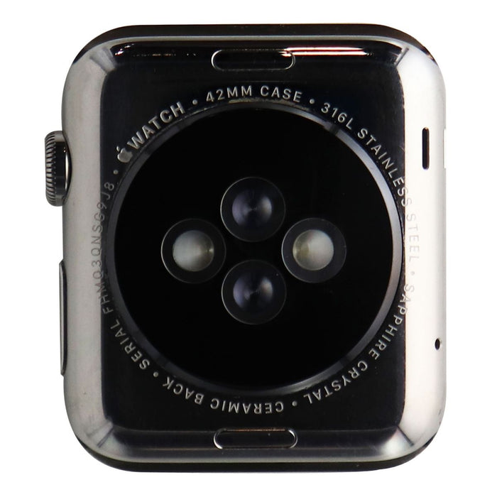 Apple Watch 42mm Housing A1554 1st Gen Stainless Steel - OEM Repair Part/No band - Macs Plus More
