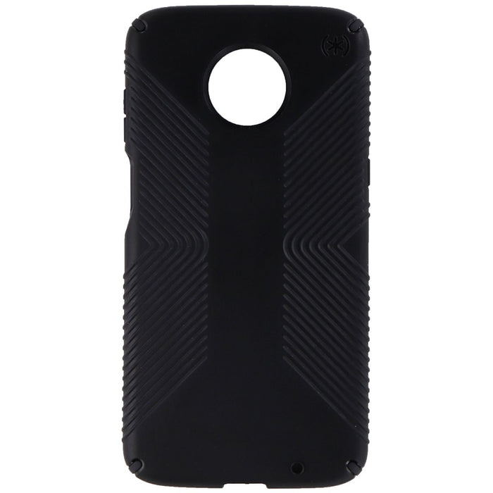 Speck Presidio Grip Case Cover for Moto Z3 / Moto Z3 Play - Black - Macs Plus More