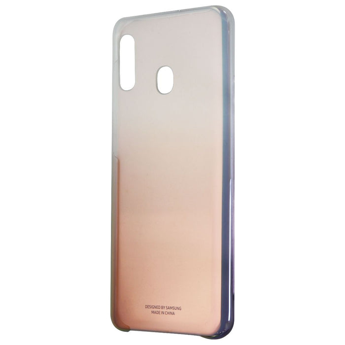 Samsung Protective Cover for Samsung Galaxy A20 - Iridescent Fade