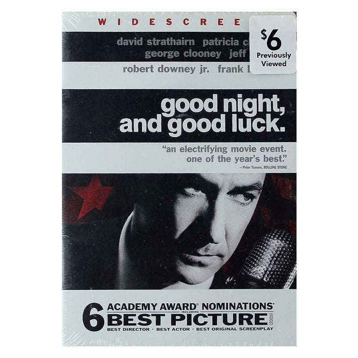 Warner Manufacturing Good Night and Good Luck DVD (Widescreen Edition) - Macs Plus More