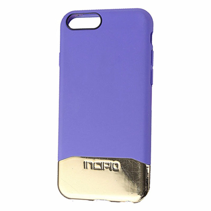 Incipio Edge Chrome Series Hardshell Case iPhone 6/6s - Purple / Gold - Macs Plus More