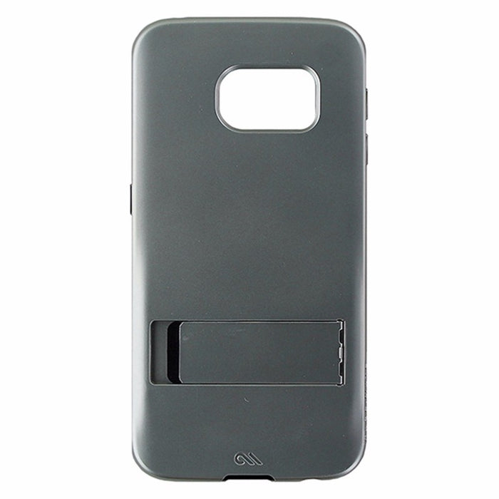 Case-Mate Tough Stand Case for Samsung Galaxy S6 Edge - Silver / Black