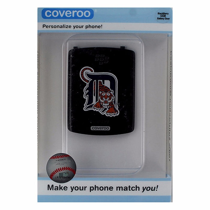 Battery Door Cover for Blackberry 8500 - MLB Detroit Tigers