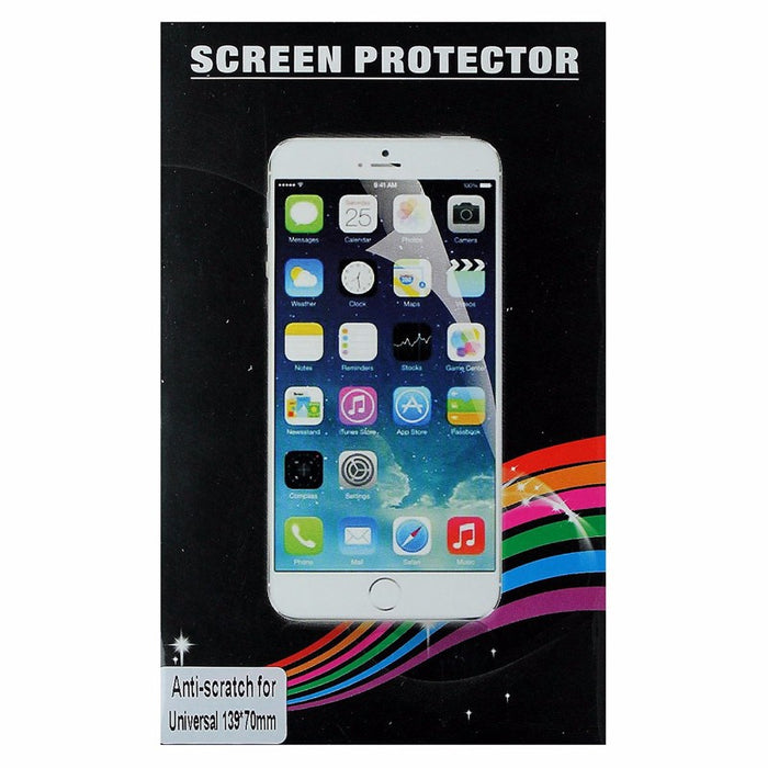 Universal Screen Protector for Smartphones (5.5 x 2.75-inch) 139x70 - Clear - Macs Plus More