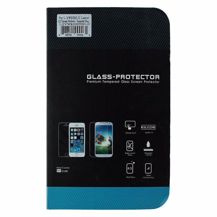 Glass Protector Tempered Glass Screen for LG Lancet (VW820) - Clear Transparent - Macs Plus More