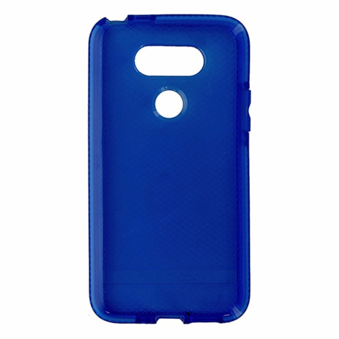 Tech21 Evo Check Series Flexible Gel Case for LG G5 - Blue / White - Macs Plus More