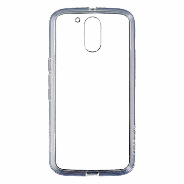 Qmadix C Series Ultra-Thin Premium Co-Molded Case for Motorola Moto G4 - Clear - Macs Plus More
