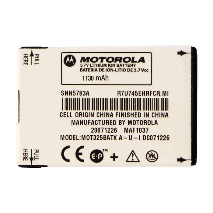 OEM Motorola SNN5783 1130 mAh Replacement Battery for Moto Q - Macs Plus More