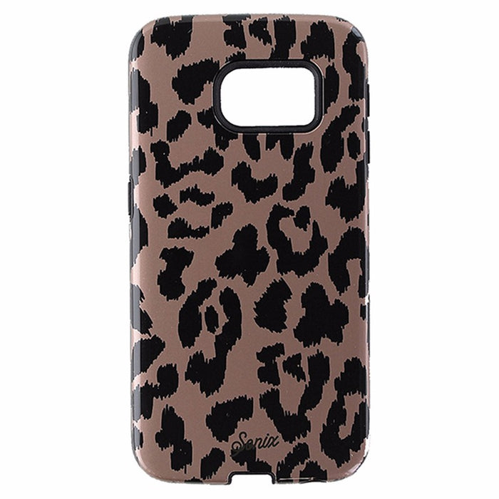Sonix Inlay Dual Layer Case for Samsung Galaxy S6 Edge - Calico / Cheetah /Brown - Macs Plus More