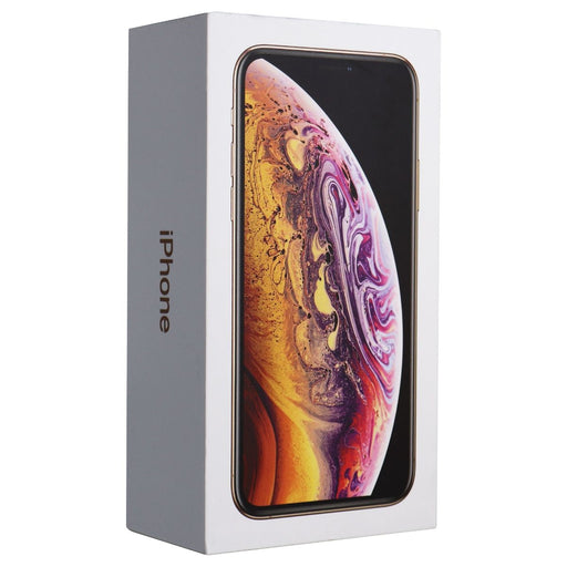 RETAIL BOX - Apple iPhone Xs - 256GB / Gold - NO DEVICE - Macs Plus More