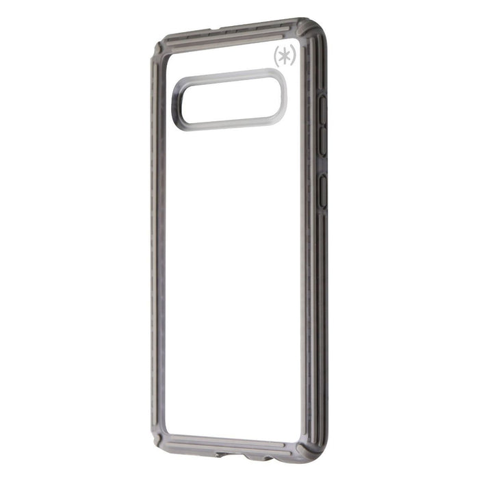 Speck Presidio V-Grip Series Case for Samsung Galaxy S10+ (Plus) - Clear / Gray - Macs Plus More