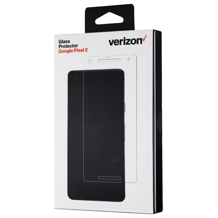 Verizon Tempered Glass Screen Display Protector for Google Pixel 2 - Clear