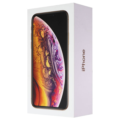 RETAIL BOX - Apple iPhone Xs (A1920) - 512GB / Gold - NO DEVICE - Macs Plus More