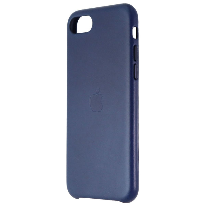Apple Leather Phone Case for iPhone 8/7 & iPhone SE (2nd Gen) - Midnight Blue - Macs Plus More