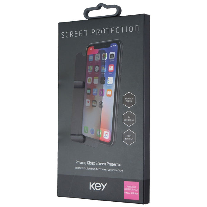 Key Privacy Glass Screen Protector for Apple iPhone Xs Max - Tinted - Macs Plus More