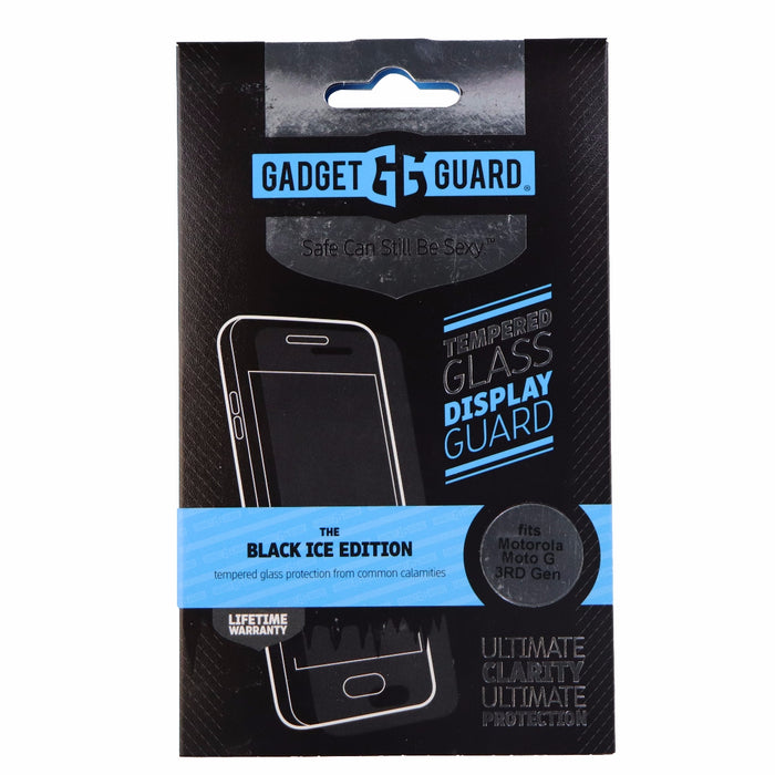 Gadget Guard Black Ice Tempered Glass Screen Protector for Moto G (3rd Gen)