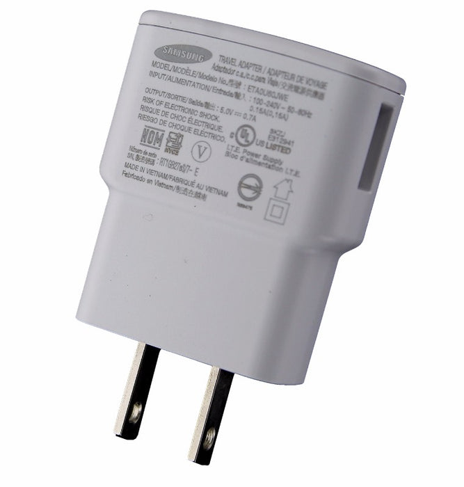 Samsung (ETA0U60JWE ) Wall Charger / Travel Adapter - White - Macs Plus More