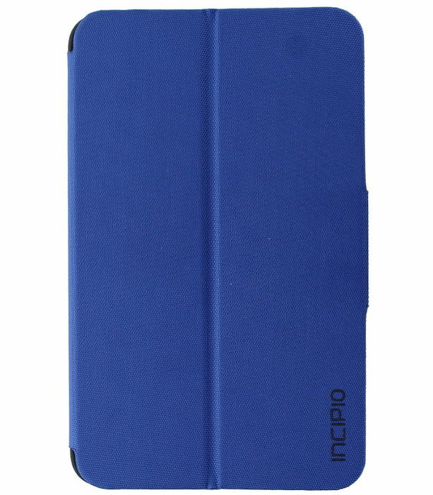 Incipio Clarion Series Protective Folio Case for Samsung Tab E 8.0 Tablet - Blue - Macs Plus More