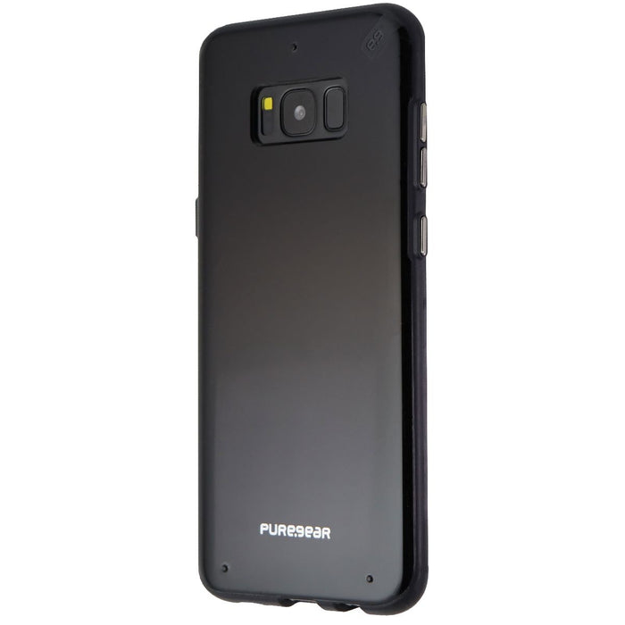 PureGear Slim Shell Series Protective Case Cover for Galaxy S8+ (Plus) - Black