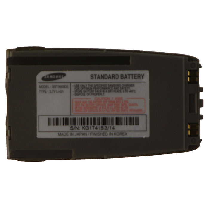 Samsung OEM Standard Li-ion Battery (BST0669DE) 3.7V for Samsung Cell Phones - Macs Plus More