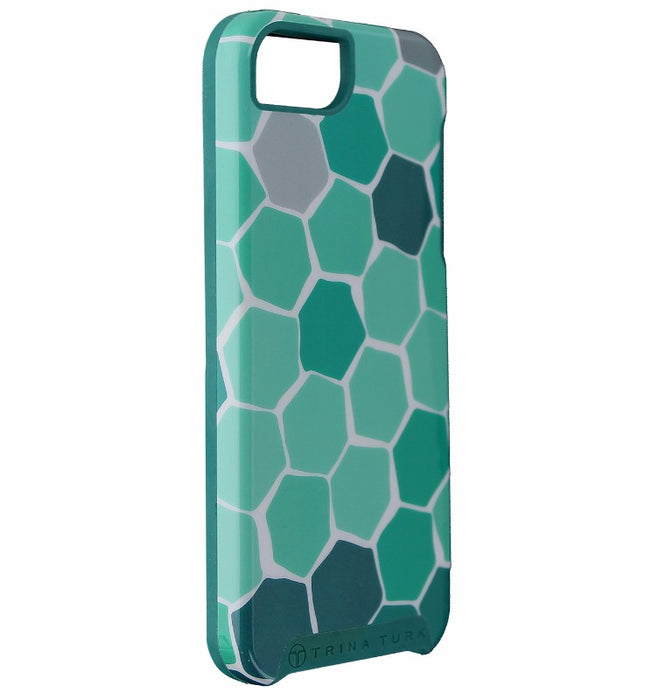 Trina Turk Dual Layer Protective Case Cover for iPhone SE 5S 5 - Green Turtle - Macs Plus More