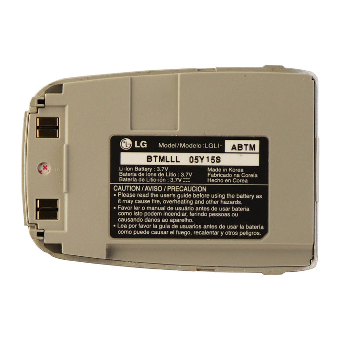 LG Standard Li-ion Battery (LGLI-ABTM) 3.7V OEM for LG VX4400/B - Silver - Macs Plus More