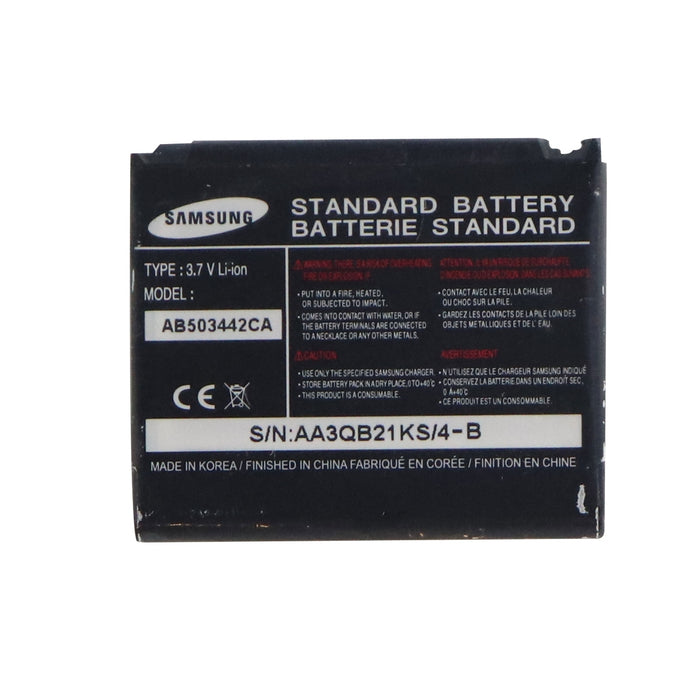 OEM Samsung AB503442CA 750 mAh Replacement Battery for Samsung T729/T519/R500 - Macs Plus More