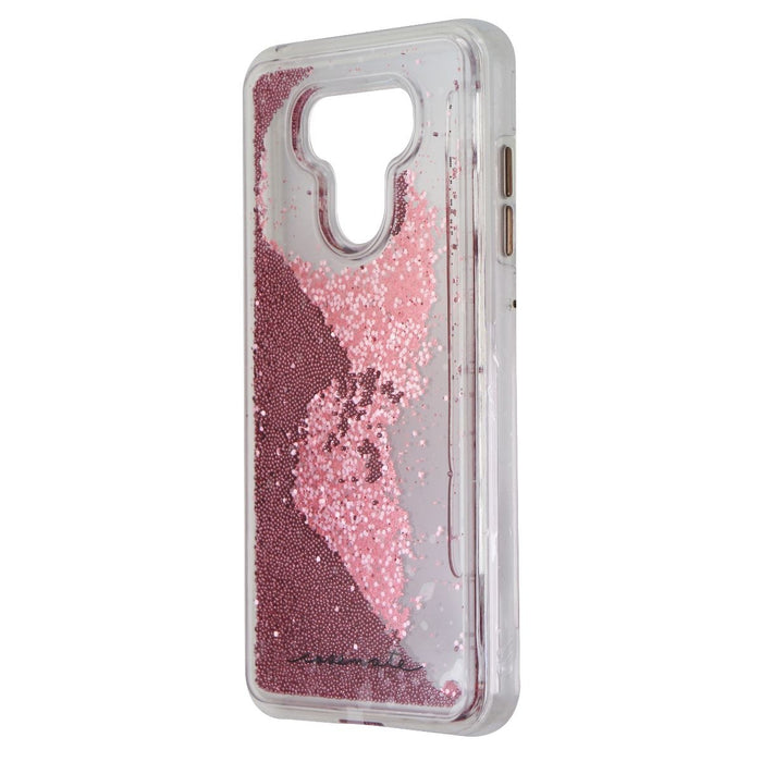 Case-Mate Naked Tough Waterfall Case Cover for LG G6 - Clear / Pink Glitter - Macs Plus More