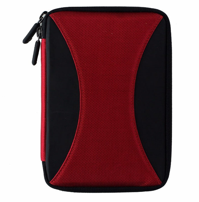 M-Edge Latitude Jacket Protective Case for Amazon Kindle 4 Touch - Black / Red
